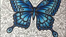 finecolour coloring in butterfly mandalas coloring book