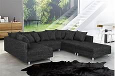 sofa wohnlandschaft wohnlandschaft sofa couch ecksofa eckcouch in gewebestoff