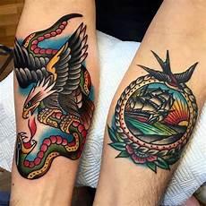 Tatouage Avant Bras Aigle Cochese