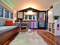 small home with smart use of space intel s smart tiny house puts the of things to