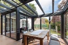 wintergarten als wohnzimmer glaswand f 252 r den wintergarten zum falten 187 livvi de