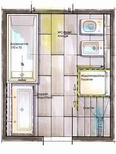Kleines Bad Mit Dusche Grundriss - kleine b 228 der waschmaschine grundriss foto