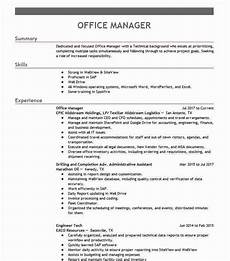 office manager objectives resume objective livecareer