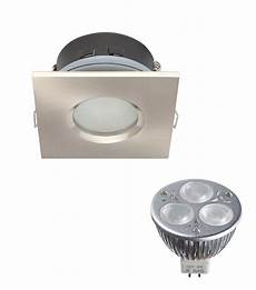 Pack Spot Encastrable Salle De Bain Nickel Satin 233 Carr 233
