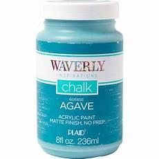 waverly inspirations matte chalk finish acrylic paint by plaid agave 8 oz walmart com