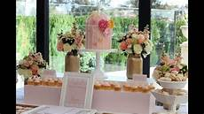 wedding buffet ideas using flowers for buffet table