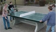 Table Ping Pong Exterieur Beton Verte Partenaire