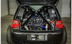 turbo golf 5 vw golf packs a turbo lamborghini v10 engine