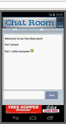 free chat room free android app the