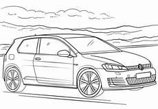 ausmalbilder vw golf 465 malvorlage autos ausmalbilder