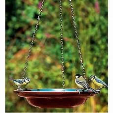vogeltränke zum aufhängen hanging ceramic bird bath water dish with chains