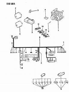 1990 Jeep Wrangler Fuse Panel Instrument Panel Wiring