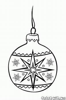 malvorlagen eine reihe weihnachtskugeln