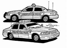Ausmalbilder Polizeiauto Car Coloring Pages To And Print For Free