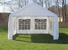 partyzelt festzelt pavillon pe 4x4m 4 x 4 m gartenzelt