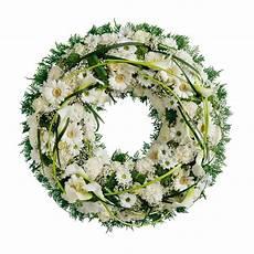 couronne deuil couronne blanche interflora