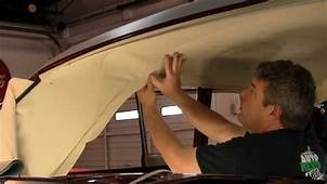 Episode 96 Part 2 Ford Hardtop Coupe Bow Style Headliner