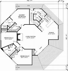octagonal house plans the octagon 1371 3 bedrooms and 2 baths the house