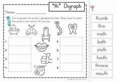 digraph th phonics word work multiple phonograms