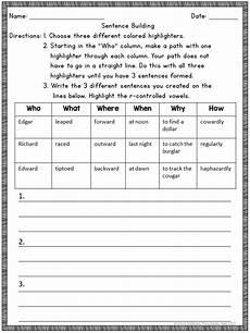 orton gillingham phonics multisensory activities r controlled vowels ar word list builder