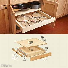 Made Kitchen Drawers by 10 Kitchen Cabinet Drawer Organizers You Can Build