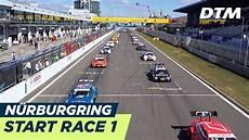 dtm nürburgring 2018 start race 1 dtm n 252 rburgring 2018