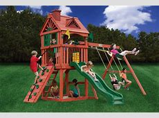 Ideas: Happy Kidsplay With Wooden Swing Sets Clearance