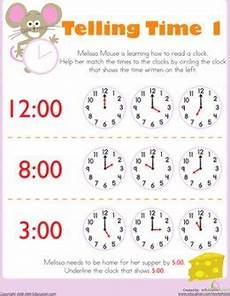 free printable time worksheets for kids