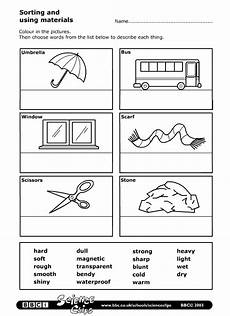 science worksheets materials 12296 schools science sorting and using materials worksheet