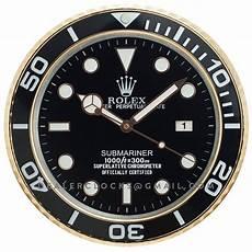 xl rolex submariner serie gold wanduhr 116618ln