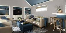 Calming Living Room Gray Living Room Gallery Behr