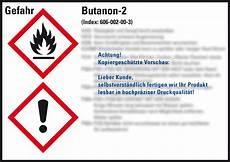 Gefahrstoffetikett Butanon 2 Gem 228 223 Norm Kroschke