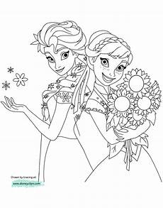 frozen coloring pages 2 disneyclips