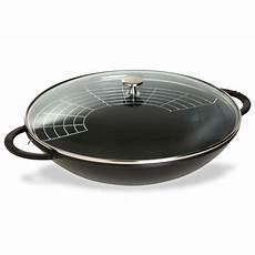 tostapane bodum staub wok in ghisa 37cm nero erresse shop