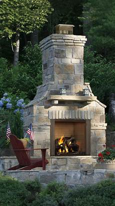majestic 42 courtyard outdoor fireplace