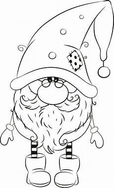 1255 01 michael winter gnome wichtelmalen weihnachten