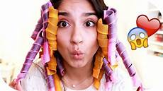 Locken Ohne Hitze Heatless Curls Methode Mit