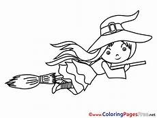 Fasching Malvorlagen Quotes Colouring Sheet Free Witch On Broom