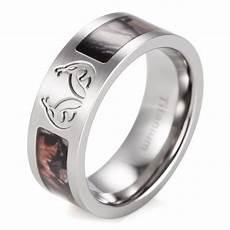 stylish mens titanium camo wedding bands matvuk com