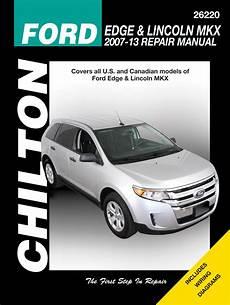 chilton 26220 repair manual 2007 13 ford edge lincoln mkx ebay mkx haynes manuals