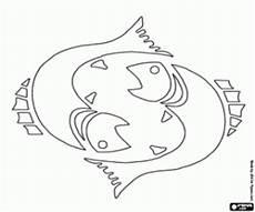 Ausmalbilder Sternzeichen Fische Ausmalbilder Tierkreiszeichen Malvorlagen