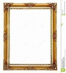 leerer goldbilderrahmen stockbild bild rustic