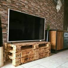 wooden pallet upcycled tv stand upcycle
