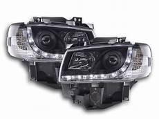 vw t4 mutlivan led scheinwerfer in schwarz t4 multivan