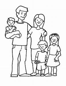 ausmalbilder familie zum ausdrucken