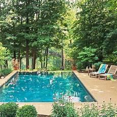 Ideen Wohnen Garten Leben - 10 ideen pool im garten waldumgebung leben wohnen