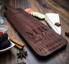 Theme Gift Wood Board by Baguette Wood Cutting Board Personalized Cheese Board