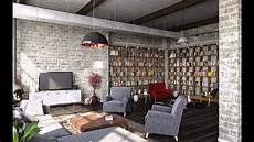 industrial style wohnzimmer modern industrial style living room design ideas