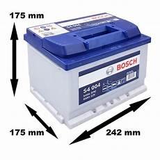 Bosch Starterbatterie S4 004 60ah 540a 12v Atp Autoteile