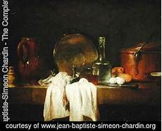 The Kitchen Jean Baptiste Simeon Chardin by Jean Baptiste Simeon Chardin The Complete Works The